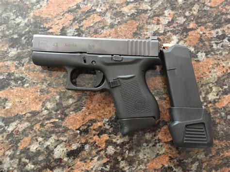 Extended Clip For Glock 43