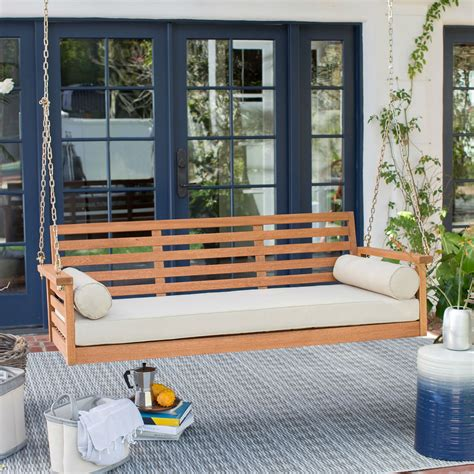 Extra deep porch swing Image