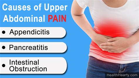 Extreme Pain In Upper Stomach