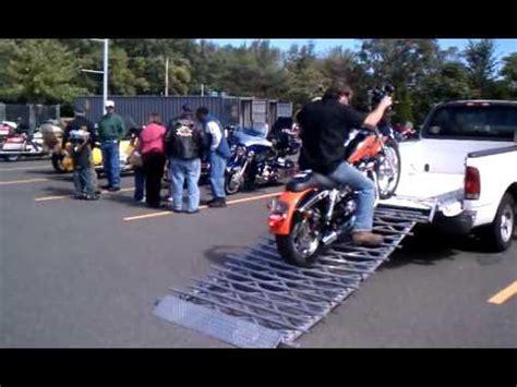 Extreme Tailgate Ramp Loading Unloading Harley