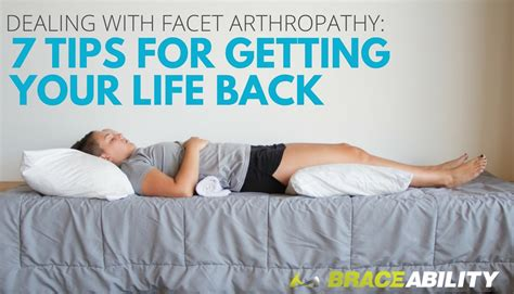 facet joint arthropathy exercises