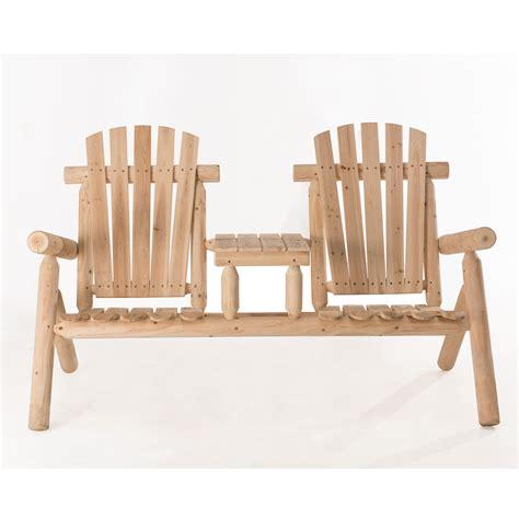 Fairbanks Wood Tete-a-Tete Adirondack Seating Group