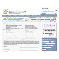 Discount fairs and festivals vendor calendar and ebook