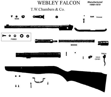 Falcon Air Rifle Spare Parts