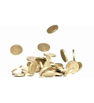 Falling Coins Png