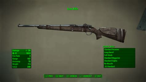 Fallout 3 Hunting Rifle Unique
