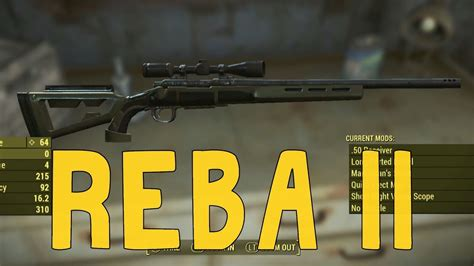 Fallout 4 50 Cal Sniper Rifle Location