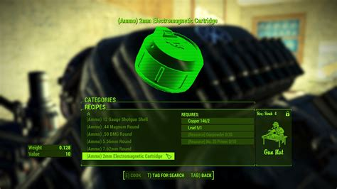 Fallout 4 Aawkcr Ammo Crafting