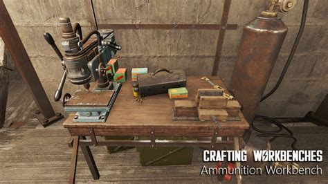Fallout 4 Ammo Crafting Bench