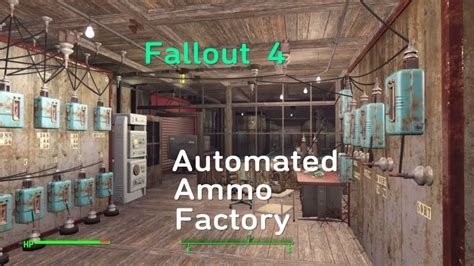 Fallout 4 Ammo Factory Tutorial