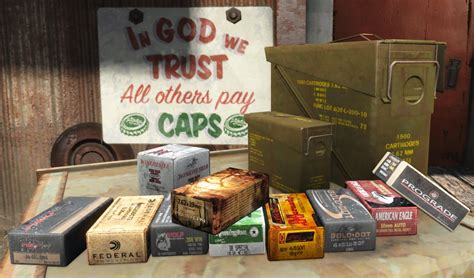 Fallout 4 Ammo Retexute