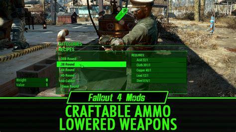 Fallout 4 Ammo Scarcity Mod