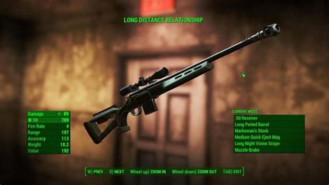 Fallout 4 Best Pipe Sniper Rifle