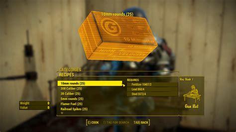 Fallout 4 Craft Ammo