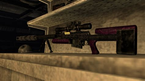 Fallout 4 Dead Eye Sniper Rifle And Fn Herstal Sniper Rifles