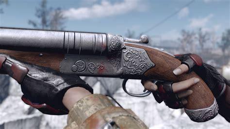 Fallout 4 Double Barrel Shotgun Retexture
