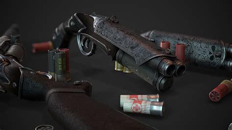 Fallout 4 Freezing Double Barrel Shotgun