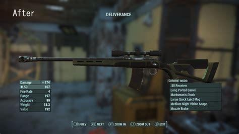 Fallout 4 Hunting Rifle Damage Increase