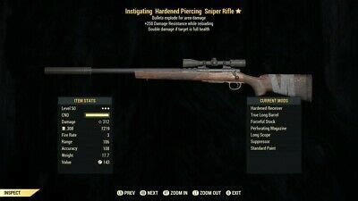Fallout 4 Instigating Hunting Rifle