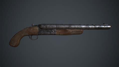 Fallout 4 Legendary Double Barrel Shotgun