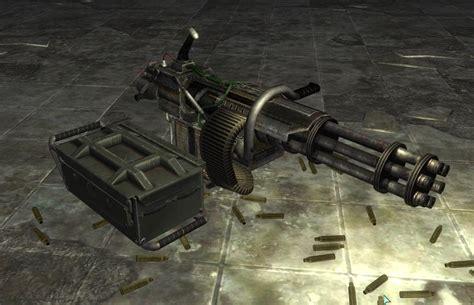 Fallout 4 Level 3 Minigun Ammo