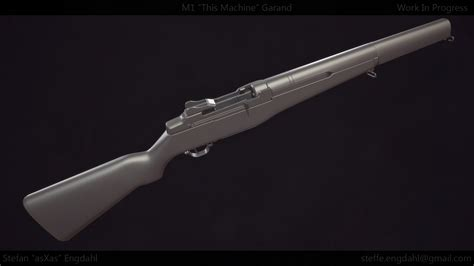 Fallout 4 M1 Garand This Machine