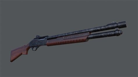 Fallout 4 Nexus Hunting Shotgun