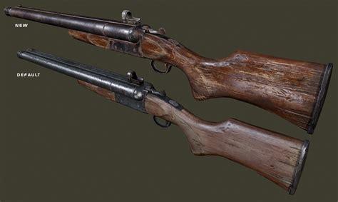 Fallout 4 Nexus Shotgun Double Barrel Mod