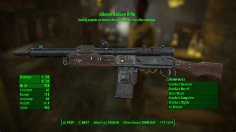 Fallout 4 Radium Rifle