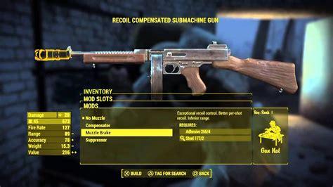 Fallout 4 Tommy Gun Mod