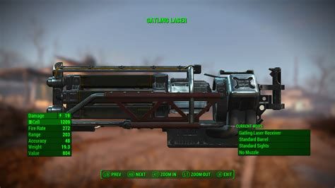 Fallout 4 What Ammo Gatling Gun Rounds Use