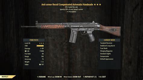 Fallout 76 Assault Rifle Good