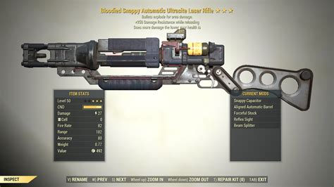 Fallout 76 Best Laser Rifle