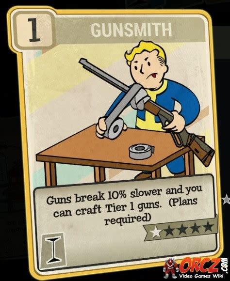 Fallout 76 Gunsmithing Perk Bug