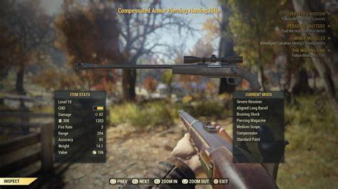 Fallout 76 Hunting Rifle Vs Sniper Rifle