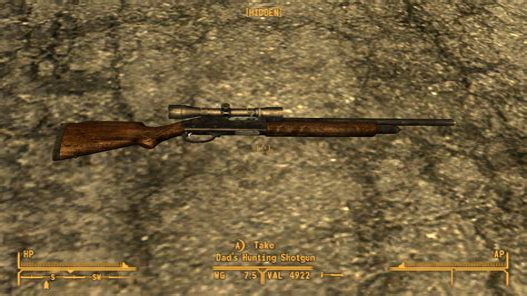 Fallout New Vegas Best Hunting Shotgun