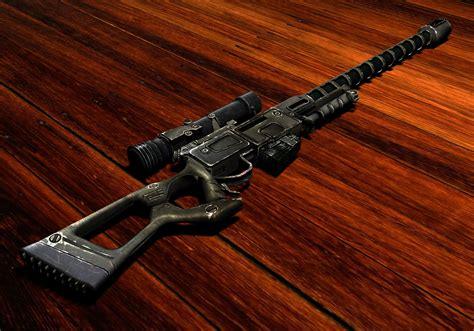 Fallout New Vegas Jury Rigging Sniper Rifle