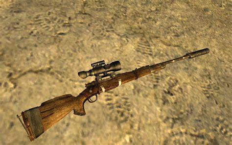 Fallout New Vegas Sniper Rifle Modifications
