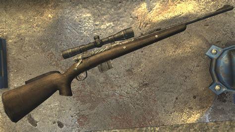 Rifle-Scopes Fallout New Vegas Wme Scoped Hunting Rifle Texture Bug.