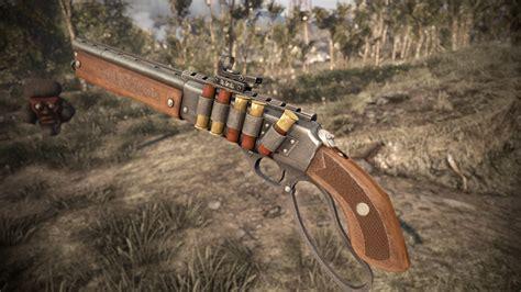 Fallout Nv Unique Lever Action Shotgun