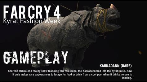 Far Cry 4 Hunt Karkadann With Shotgun