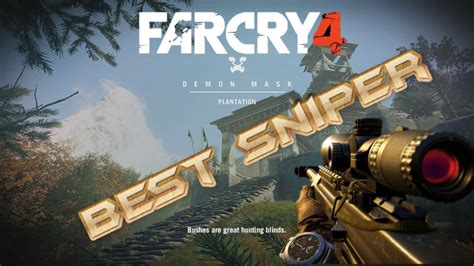 Far Cry 4 Sniper Rifle Zoom