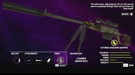 Far Cry 4 Sniper Rifles