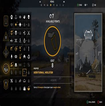 Far Cry 5 Rifle Ammo Bag Perk Bug