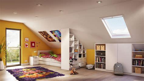 Farbgestaltung Kinderzimmer Mit Dachschräge