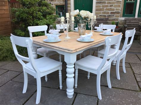 Farmers dining table and chairs Image