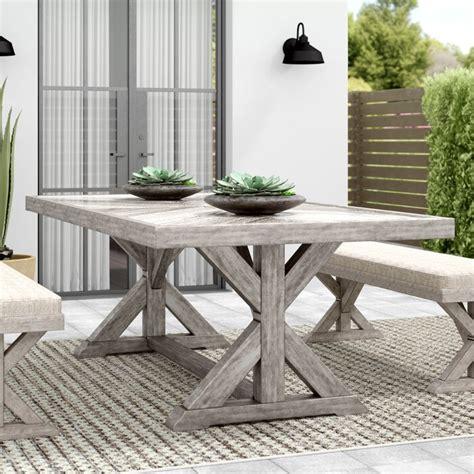 Farmersville Stone/Concrete Dining Table