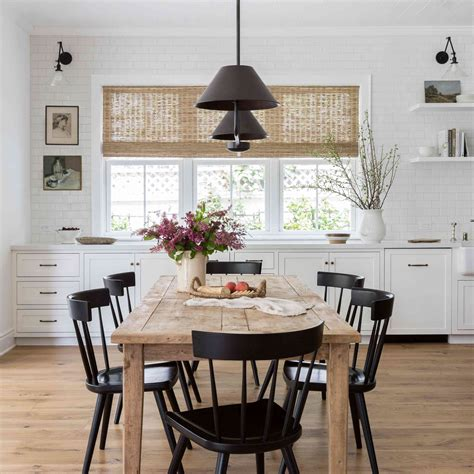 Farmhouse dining rooms Image