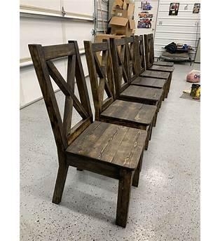 Farmhouse Table Chairs Plans