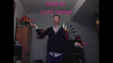 Fast Change Magic Tricks Revealed